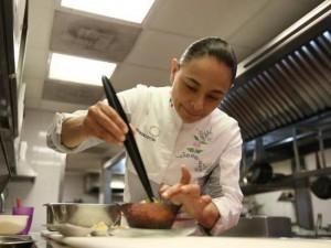La chef Yerika Muñoz lleva siete años al frente de Astrid y Gastón