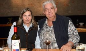 María Benitez y Joaquín Moya