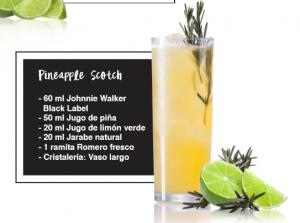 Pineapple scoth