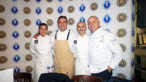 Paulina Aguilar, Azari Cuenca, Carlos Cano, Guy Santoro